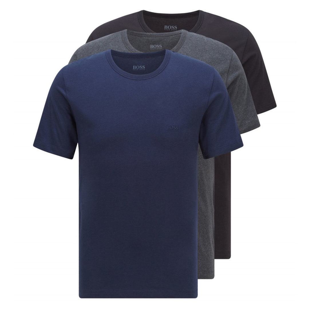Hugo Boss – Assorted Three-pack of underwear T-shirts in cotton