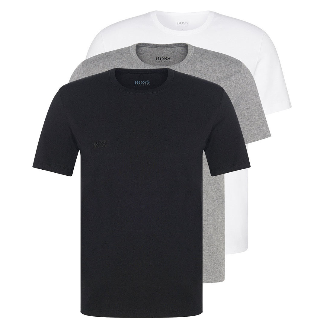 Hugo Boss - Assorted Three-pack of underwear T-shirts in cotton