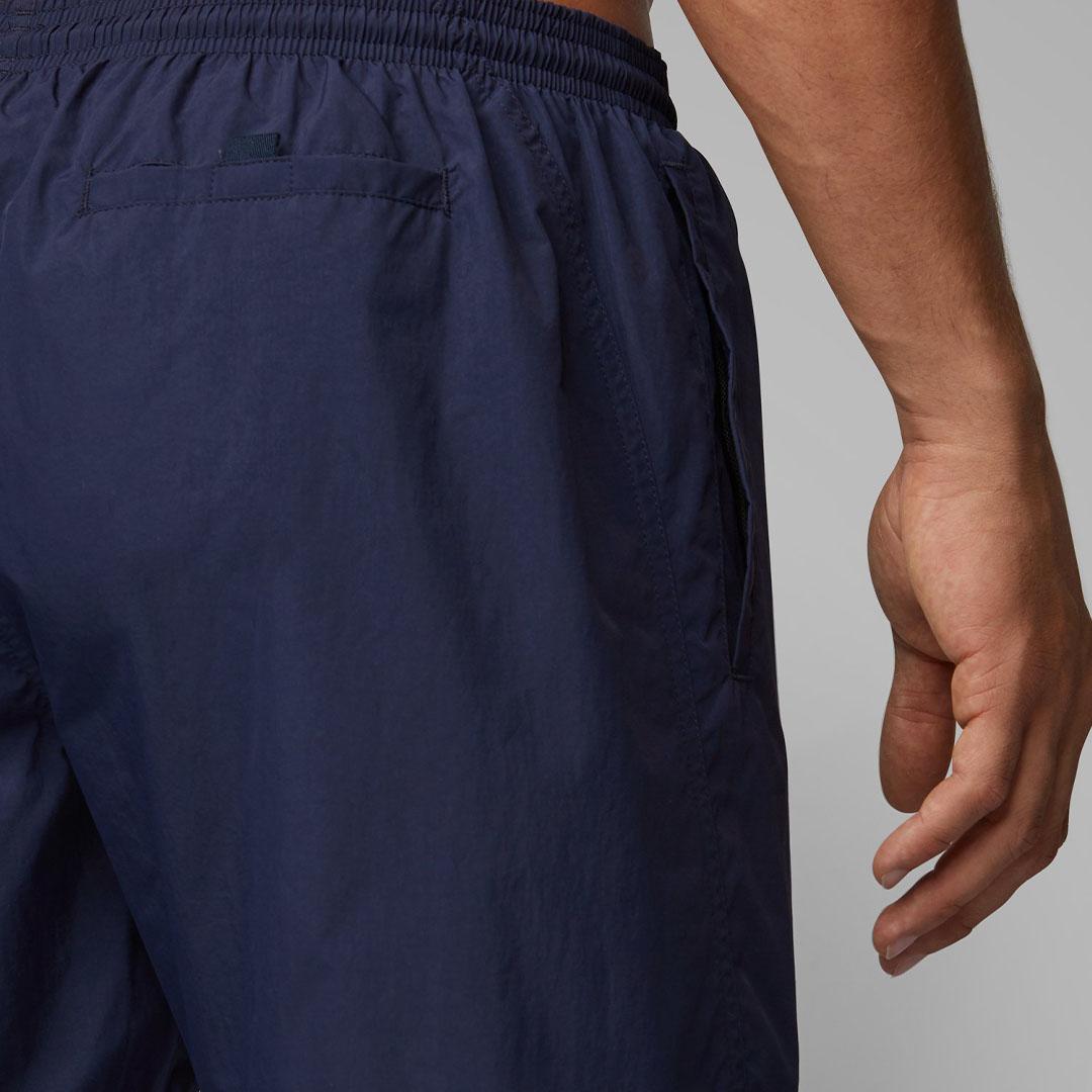 Hugo Boss - Dark Blue Quick-drying swim shorts with contrast logo 50332324